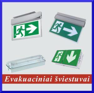 Evakuciniai šviestuvai