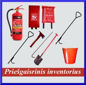 Prišgaisrinis inventorius