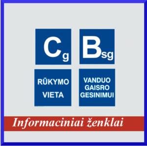 Informaciniai ženklai