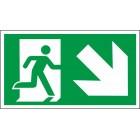 Žemyn į kairę