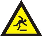Pavojus užkliūti