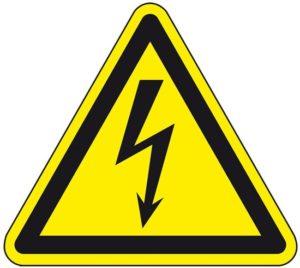 Elektros smugio pavojus