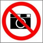 fotografuoti draudžiama