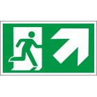 aukštyn į dešinę